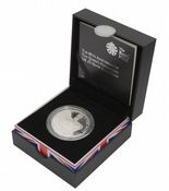 2013 Silver Proof £5 Coin Queen's Coronation
